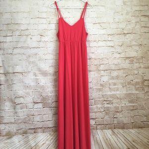 Kenar Pink Maxi Dress